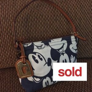 Sold! Dooney & BOURKE Disney Mickey Mouse Hobo